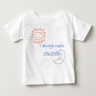 Sun & moon:I always make you smile Baby T-Shirt