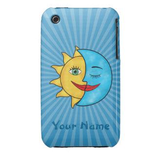Sun Moon iPhone 3 Covers