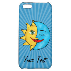 Sun Moon iPhone 5C Cover