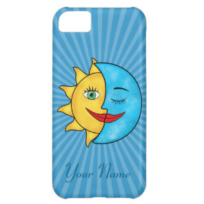 Sun Moon iPhone 5C Cover