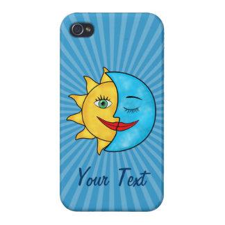Sun Moon Case For iPhone 4
