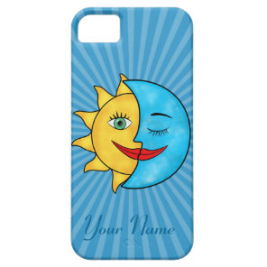 Sun Moon iPhone SE/5/5s Case