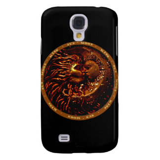 Sun,Moon,Kiss Gifts Samsung S4 Case
