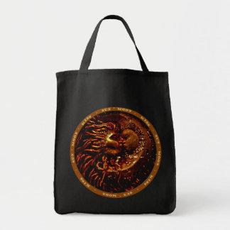 Sun,Moon,Kiss Gifts Tote Bag