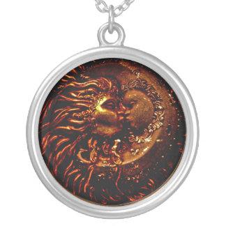 Sun, moon, Kiss Necklace