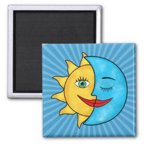 Sun Moon Magnet