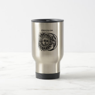 Sun&Moon 15 Oz Stainless Steel Travel Mug