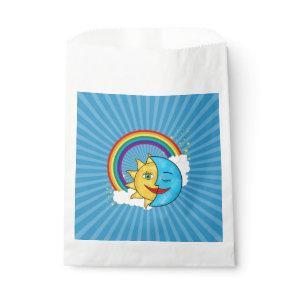 Sun Moon Rainboow Celestial theme Favor Bag