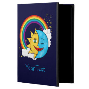 Sun Moon Rainboow Celestial theme iPad Air Cover