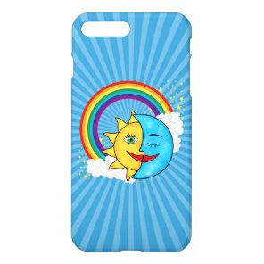 Sun Moon Rainboow Celestial theme iPhone 8 Plus/7 Plus Case