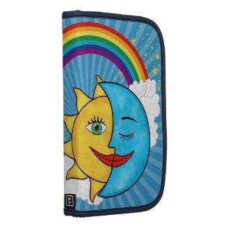 Sun Moon Rainbow Stars rickshaw_folio