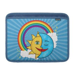 Sun Moon Rainbow Stars Sleeve For MacBook Air