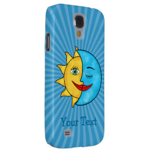 Sun Moon Samsung S4 Case