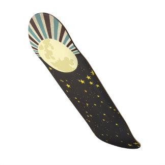 Sun & Moon Skateboard