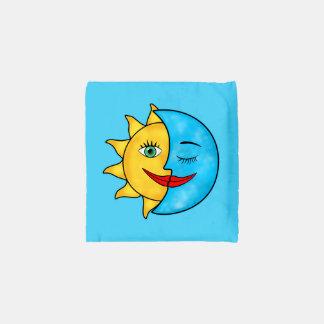 Sun Moon solar rays Celestial theme Reusable Bag