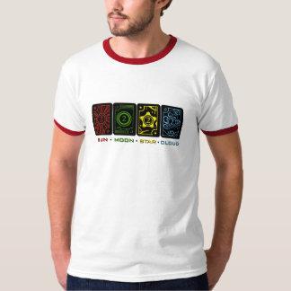 Sun Moon Star Cloud T-Shirt