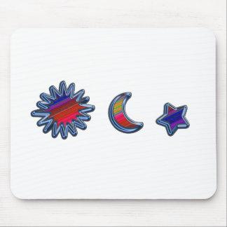 SUN MOON & STAR H rainbow D E.pdf Mouse Pads