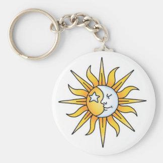Sun Moon & Star Keychain