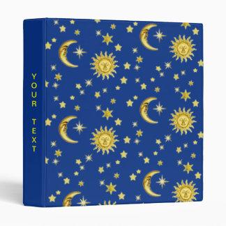 Sun, Moon & Stars Binder