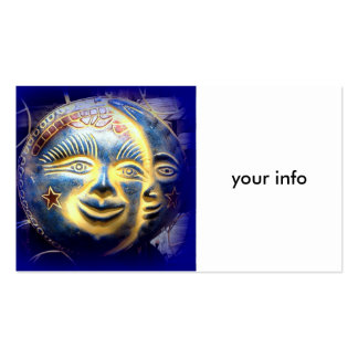 sun moon stars business cards