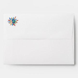 SUN, MOON & STARS by SHARON SHARPE Envelope