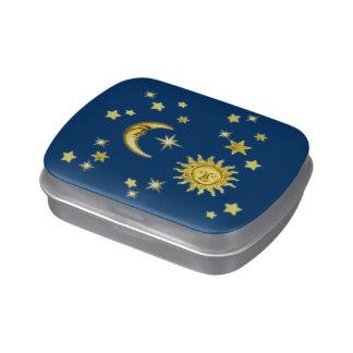 Sun, Moon & Stars Candy Tin