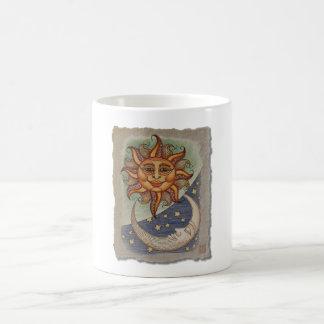 Sun Moon & Stars Coffee Mug