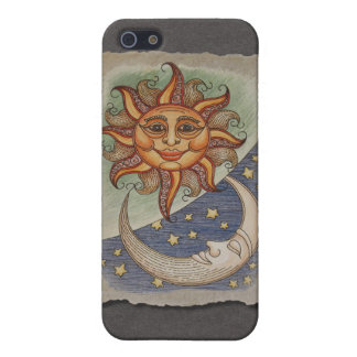 Sun Moon & Stars Cases For iPhone 5