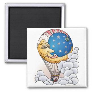 Sun Moon Stars Moon Balloon Aircraft Magnets