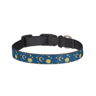 Sun, Moon & Stars Pet Collar
