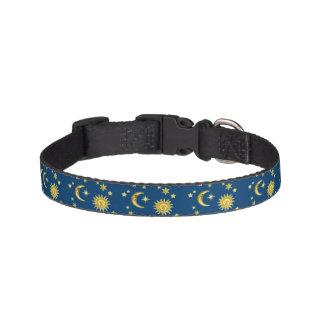 Sun, Moon & Stars Pet Collar
