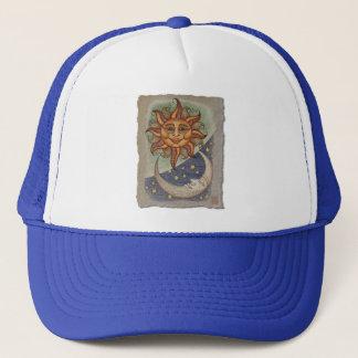 Sun Moon & Stars Trucker Hat