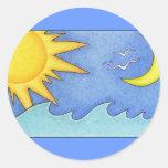 Sun & Moon Sticker