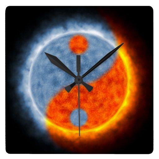 Sun & Moon Wallclock
