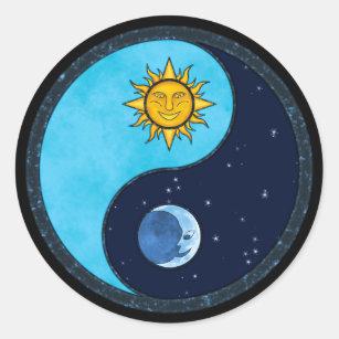 Yin Yang Sun Moon Stickers Zazzle