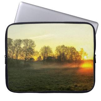 Sun morning joint laptop sleeve