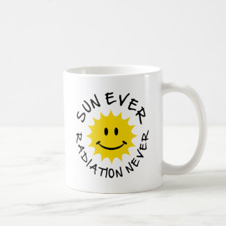 sun classic white coffee mug