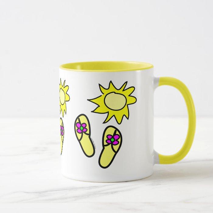 Sun n' Flip Flops Mug