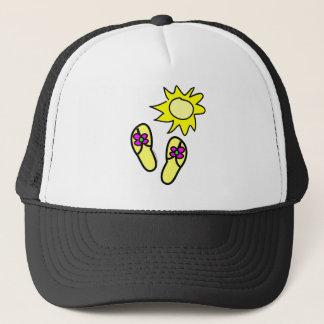 Sun n' Flip Flops Trucker Hat