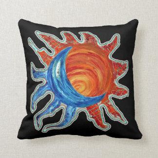 Sun N Moon American MoJo Pillow