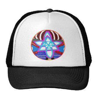 SUN n MOON Artistic Presentation Trucker Hat