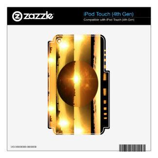 SUN n MOON Artistic Presentation iPod Touch 4G Decal