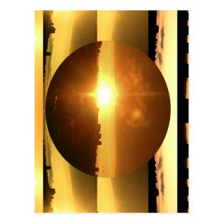 SUN n MOON Artistic Presentation Post Card