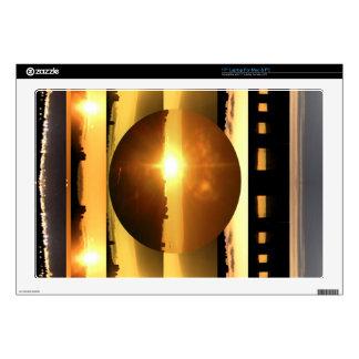 "SUN n MOON Artistic Presentation Skin For 17"" Laptop"