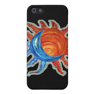 Sun N Moon Cover For iPhone SE/5/5s