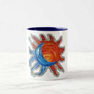Sun N Moon Two-Tone Coffee Mug