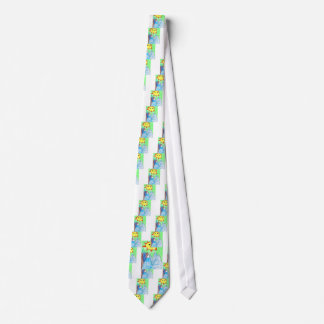 sun n mountains childrens artwok neck tie