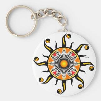 Sun of A Basket Keychain