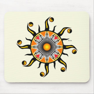 Sun of A Basket Mouse Pad