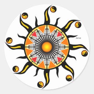 Sun of A Basket Sticker